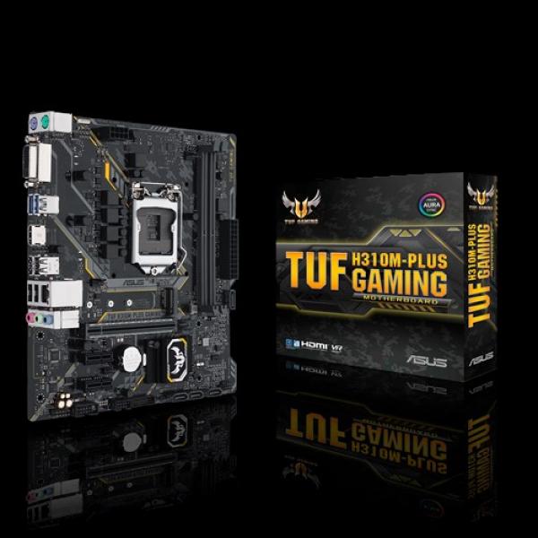 Asus Hznu H310 MATX Gaming Motherboard With Aura Sync RGB LED Lighting (Tuf H310m-plus Gaming)