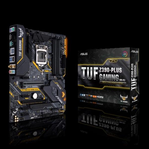 Asus TUF-Z390-Plus-Gaming-WiFi ATX Motherboard (TUF Z390-PLUS GAMING (WI-FI))