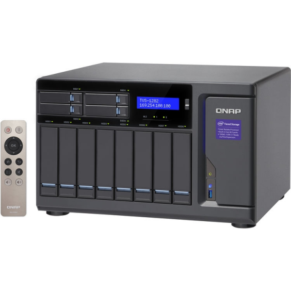 QNAP -16G 12-Bay NAS Enclosure TVS-1282-I5