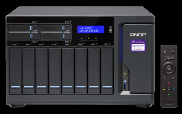 Qnap Tvs1282 Nas Tower Quad Core 3. 6ghz Intel I7 Processor Network Storage (TVS-1282-i7-32G)