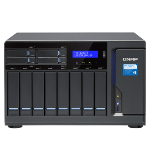 Qnap 12-Bay NAS Network Storage (TVS-1282T3-I7-32G)