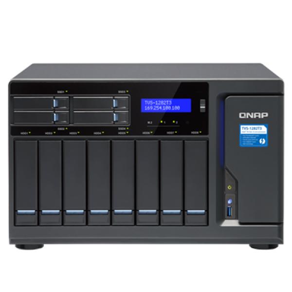 Qnap 12-Bay NAS Network Storage (TVS-1282T3-I7-32G)