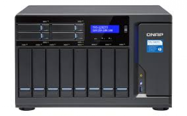Qnap 12-Bay NAS Network Storage (TVS-1282T3-I7-64G)