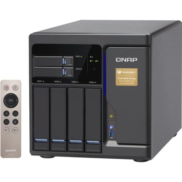 QNAP -8G 6-Bay NAS Enclosure TVS-682T-I3