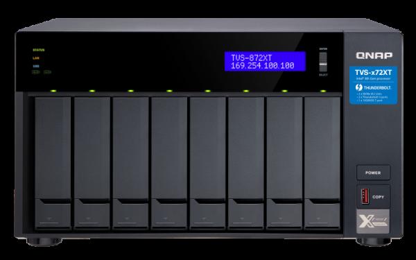 Qnap Tvs872xt Nas Tower 6 Core Intel 1.7ghz Processor 8x Sata6 HD Network Storage (TVS-872XT-i5-16G)