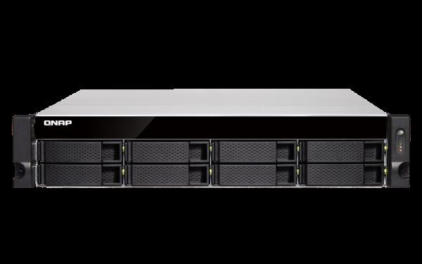 Qnap 8 Bay Nas(No Disk)I3-8100 4GB 10GBE SFP+2 Network Storage (TVS-872XU-RP-I3)