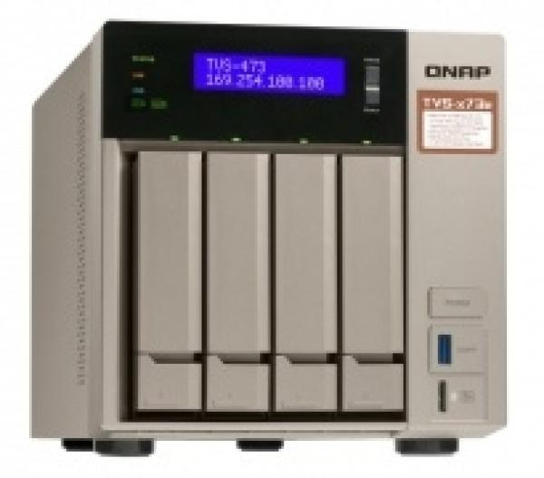 Qnap 8 Bay Nas (No Disk)M.2 SSD Network Storage (TVS-873E-4G)