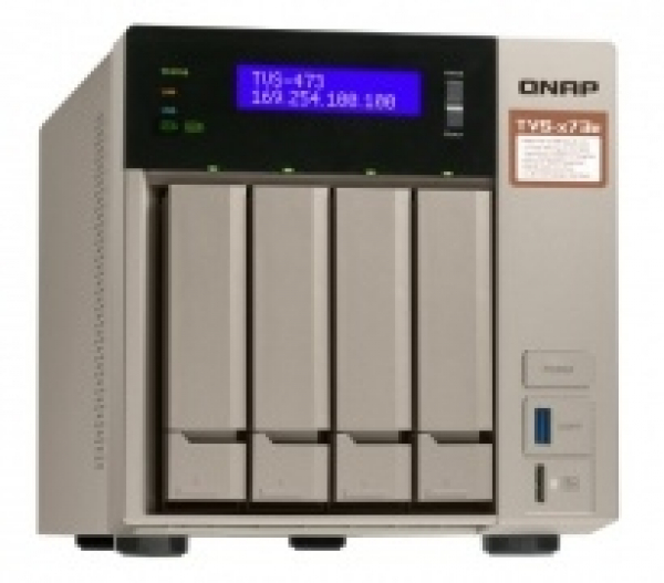 QNAP 8 Bay Nas (no Disk)M.2 SSD TVS-873E-8G