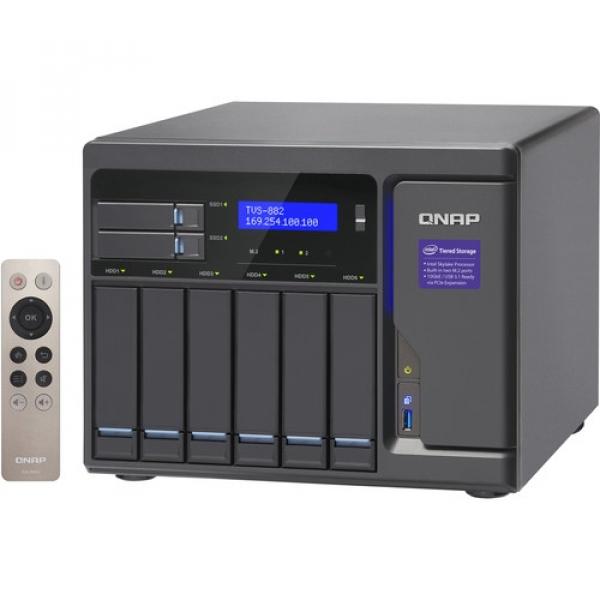 QNAP -16G 8-Bay NAS Enclosure TVS-882-I5