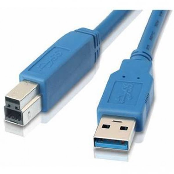 8WARE Usb 3.0 Cable Type A To B M/m Blue - UC-3003AB