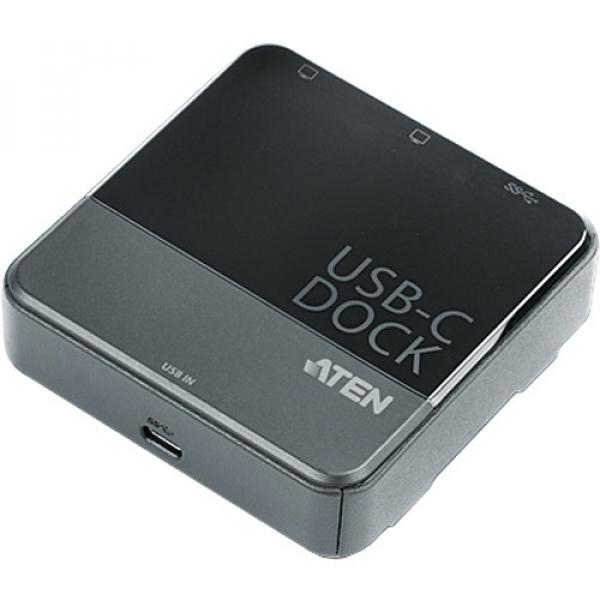 ATEN  Usb-c Dual-view Mini Dock Displayport ( UH3231-AT