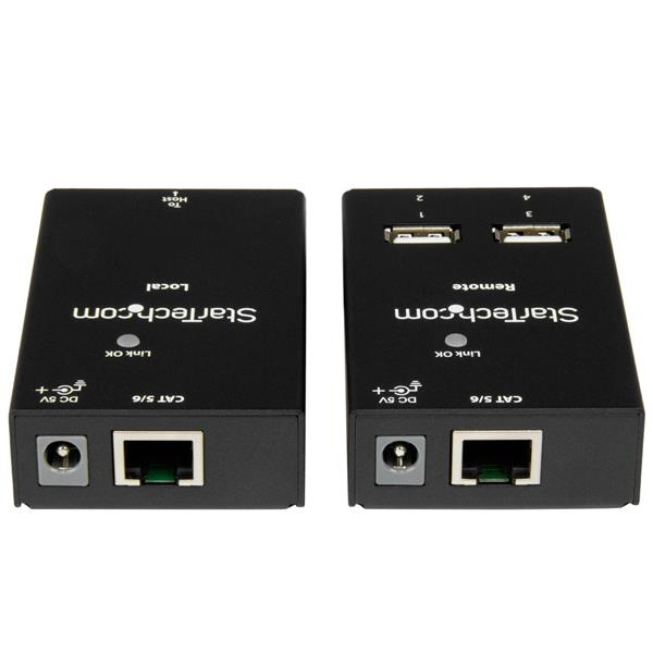 STARTECH 4 Port Usb 2.0-over-cat5 / 6 Extender - USB2004EXTV