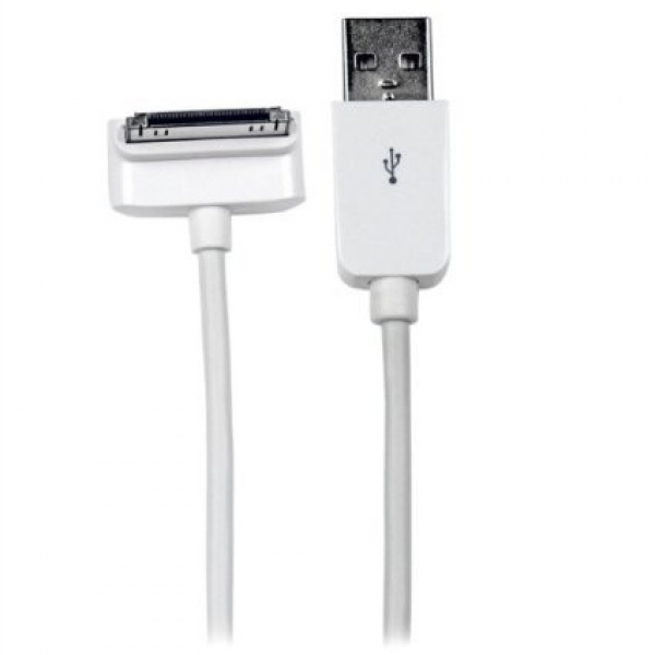 STARTECH 1m (3 Ft) Down Angle Apple 30-pin Dock USB2ADC1MD