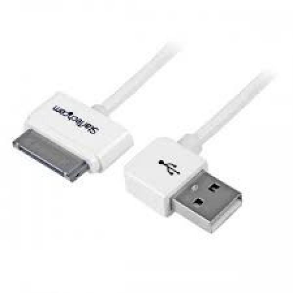 STARTECH 1m (3 Ft) Apple 30-pin Dock Connector USB2ADC1MUR
