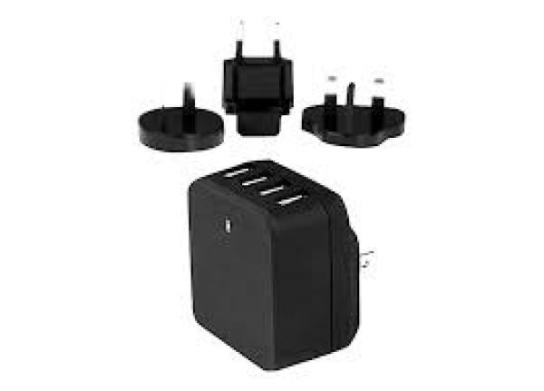 STARTECH 4-port Usb Wall Charger - International USB4PACBK