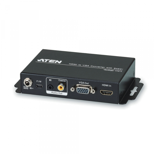 ATEN  Hdmi To Vga Converter With Scaler ( VC812-AT-U