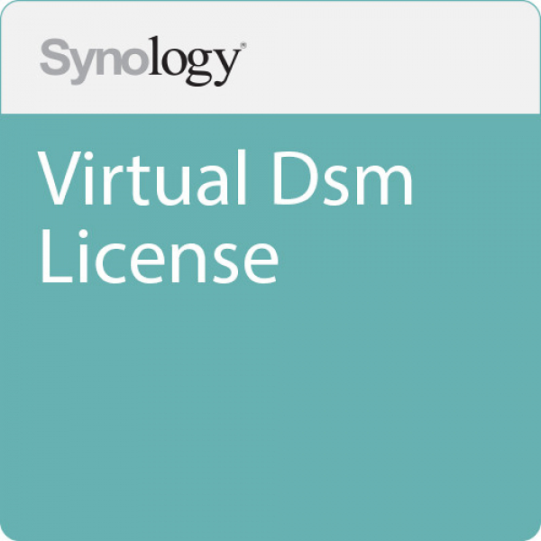 Synology Virtual Dsm License - 3 Year Validity - Physical Product NAS Accessories (Virtual DSM)