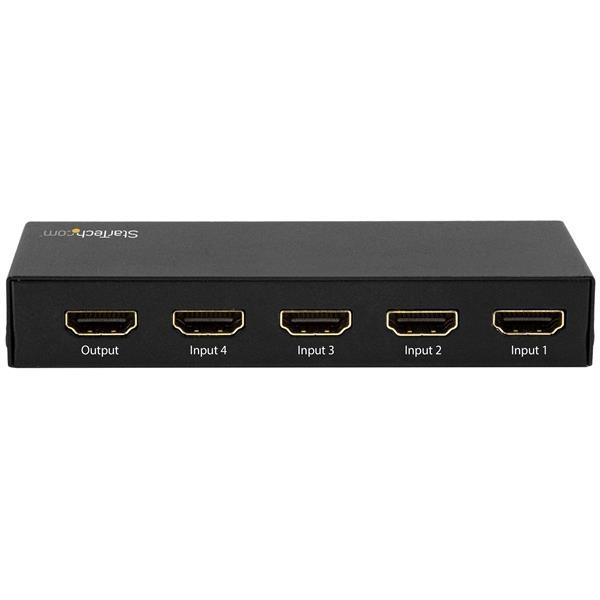STARTECH 4-port Hdmi Automatic Switch - 4k 60hz VS421HD20