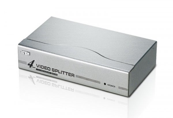 ATEN  4 Port Video Splitter 250mhz 1920x144060hz VS94A-AT-U