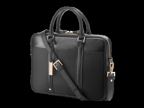 HP Spectre Slim Leather Top Load - Black Copper W5T45AA