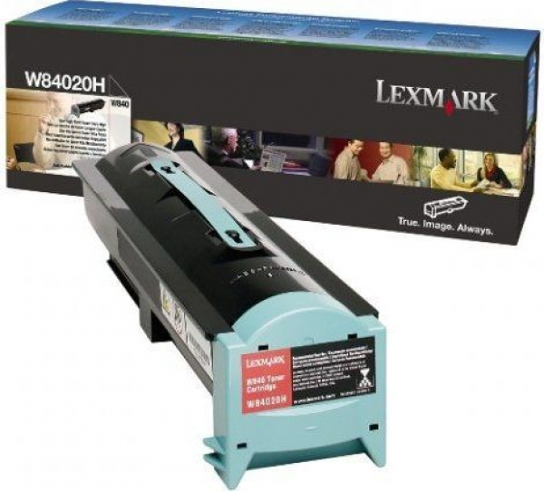 LEXMARK Black Toner Yield 30000 Pages For W84020H