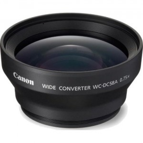 CANON Wide Converter Lens For WCDC58A