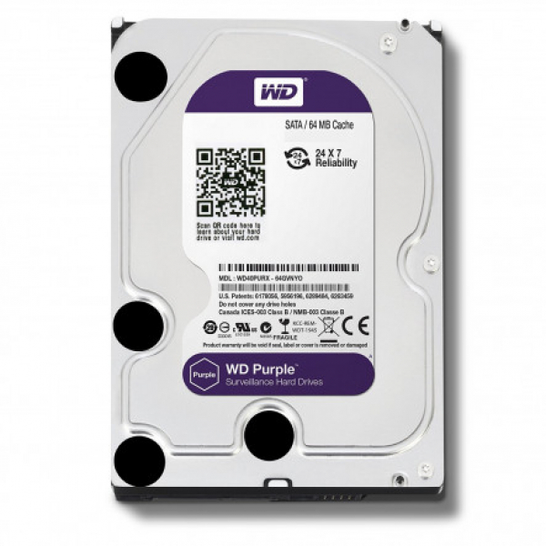 Western Digital 3.5 WD Purple 1TB Intellipower Desktop Drives (WD10PURZ)