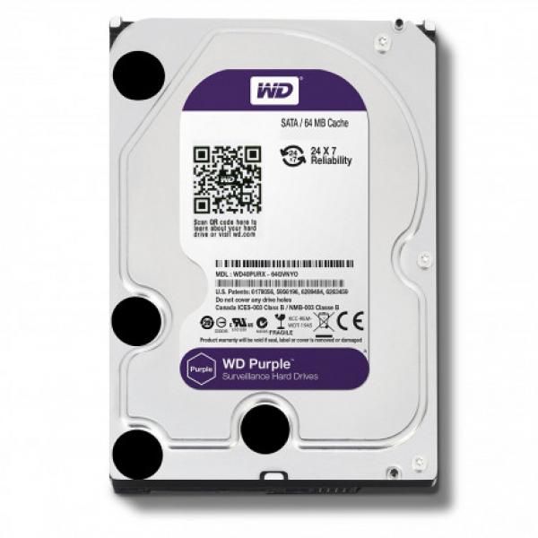 Western Digital 3.5 WD Purple 1TB Intellipower Desktop Drives (WD10PURZ)