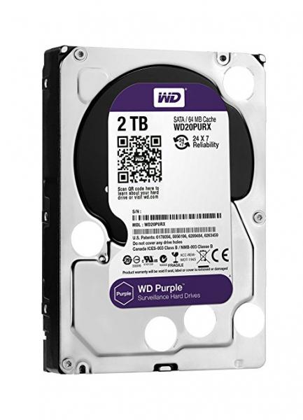 Western Digital 3.5 WD Purple 2TB Intellipower Desktop Drives (WD20PURZ)