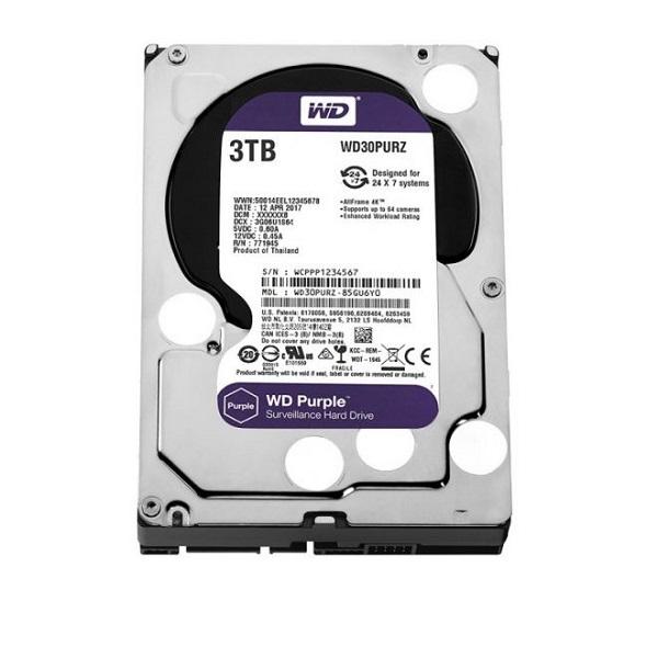 Western Digital 3.5 WD Purple 3TB Intellipower Desktop Drives  (WD30PURZ)