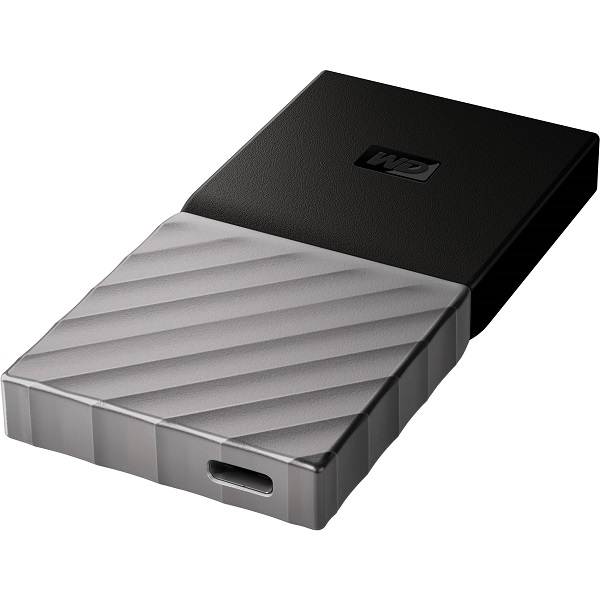 Western Digital My Passport SSD 256GB USB 3.1 Type C & Type A Compatible External Portable (BKVX2560PSL-WESN)