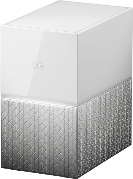 WESTERN DIGITAL Wd My Cloud Home Duo 4tb WDBMUT0040JWT-SESN