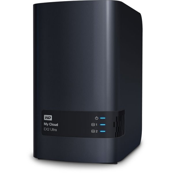 Western Digital My Cloud EX2 Ultra 2-Bay Network Storage (WDBVBZ0000NCH-SESN)