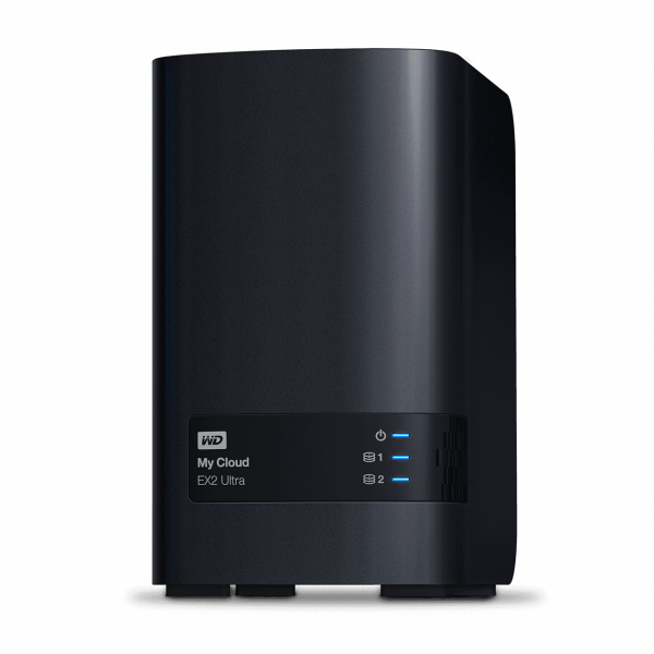 Western Digital WD My Cloud 20TB EX2 Ultra 2-Bay Nas - 1.3GHZ Dual-Core CPU1 (WDBVBZ0200JCH-SESN)