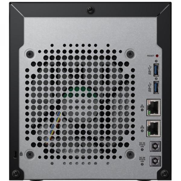 Western Digital My Cloud EX4100 32TB 4 Bay Network Storage (WDBWZE0320KBK-SESN)