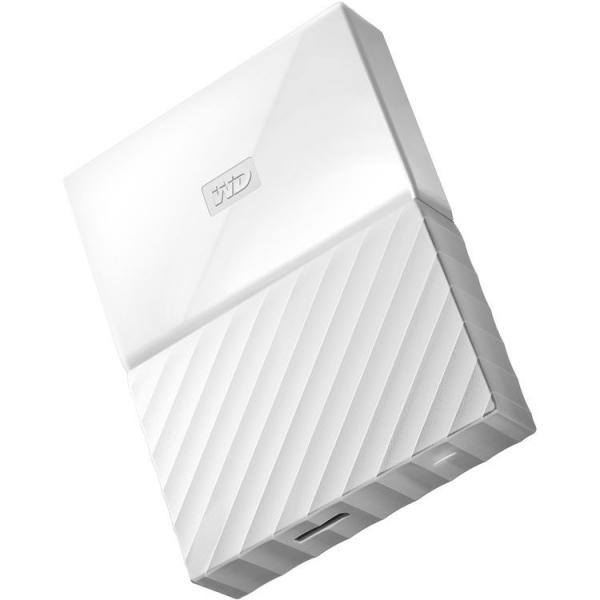 Western Digital Wd My Passport Portable 4tb White 2.5 Portable Usb3.0. Buil ( Wdbyft0040bwt )