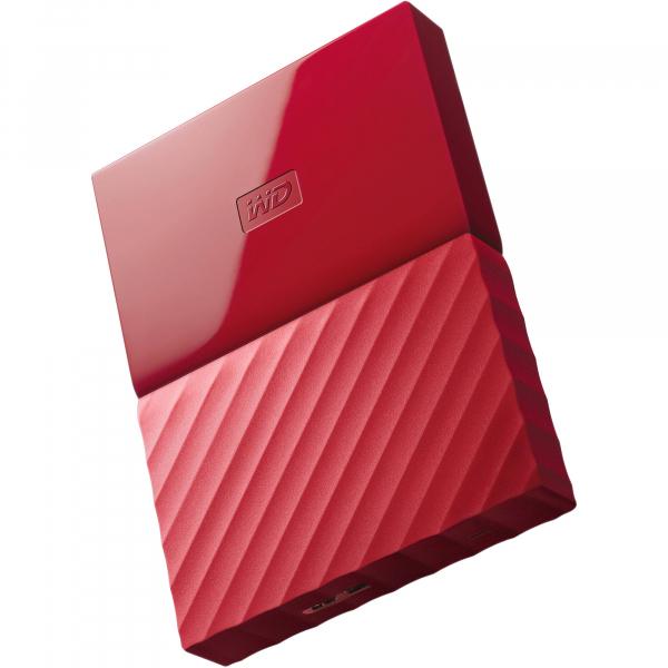 Western Digital Wd My Passport Portable 1tb Red 2.5 Portable Usb3.0 Black.  ( Wdbynn0010brd )