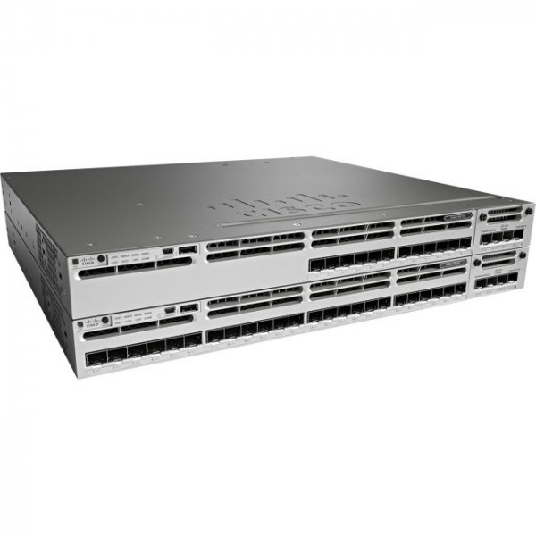 CISCO Catalyst 3850 24 Port Ge Sfp Ip WS-C3850-24S-E