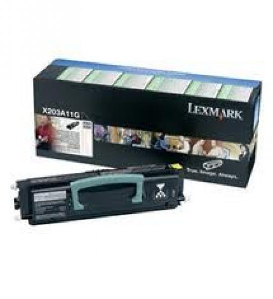 LEXMARK Black Toner (return Program) Yield 2500 X203A11G