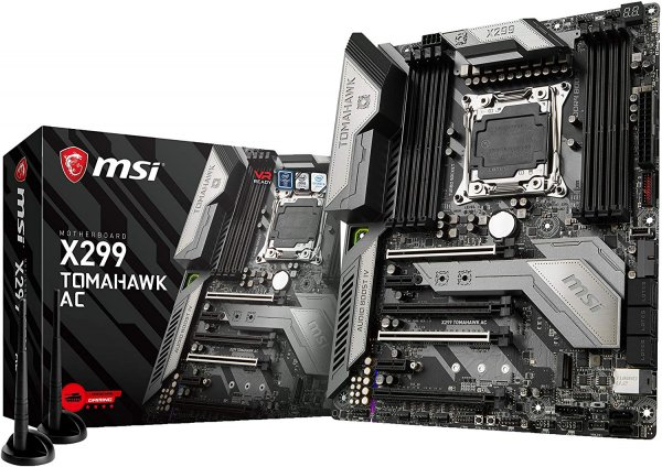 MSI Intel ATX Mother Board (X299 TOMAHAWK AC)