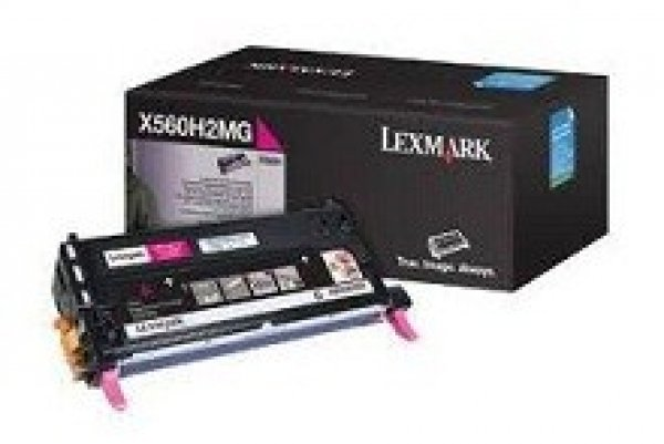 LEXMARK Magenta Toner Yield 10000 Pages For X560H2MG