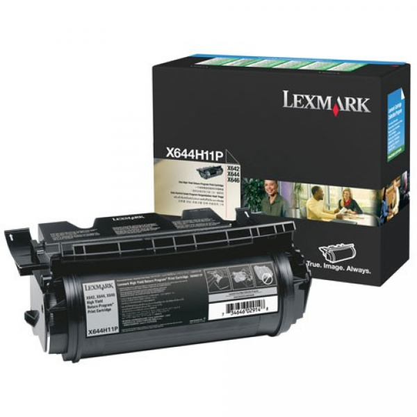 LEXMARK Black (prebate) Toner Yield 21000 Pages X644H11P