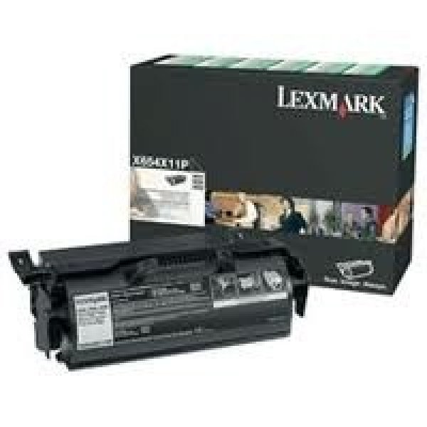 LEXMARK Black (return Program Yield 36000 Pages X654X11P