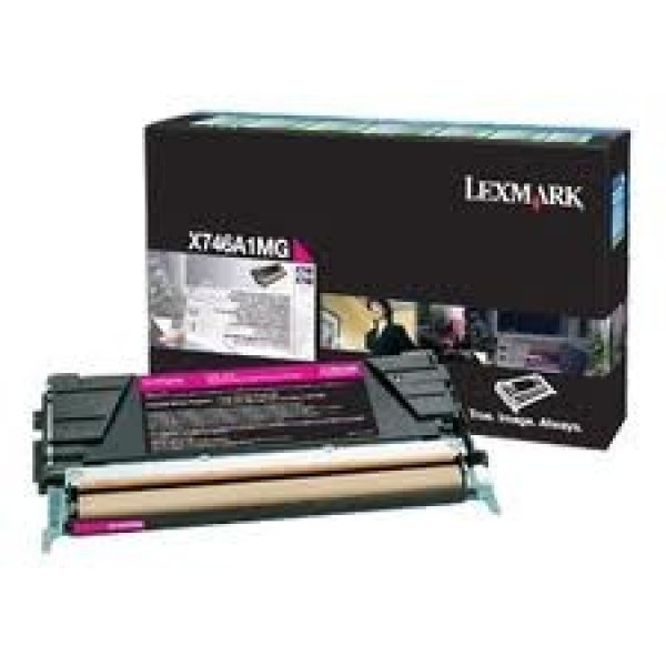 LEXMARK Magenta Return Program Toner Cartridge X746A1MG