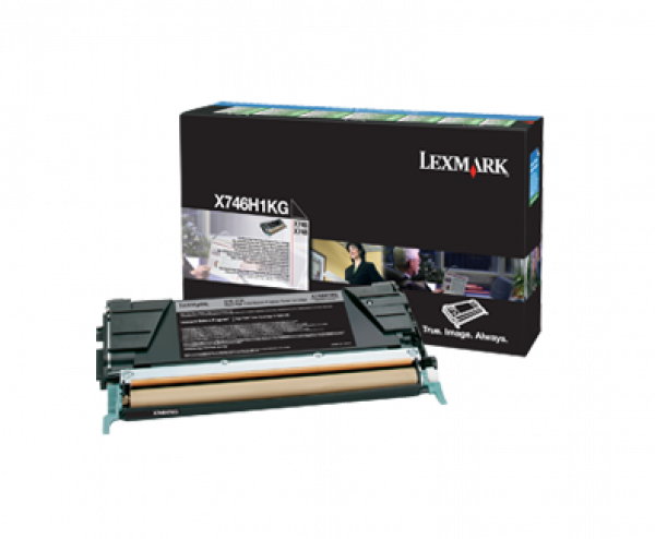 LEXMARK Toner Cartridge Black 12k Return Program X746H1KG