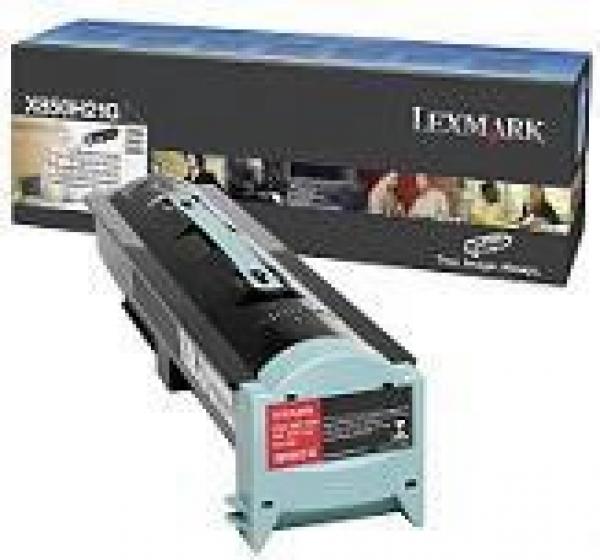 LEXMARK Black Prebate Toner Yield 30000 Pages X850H21G