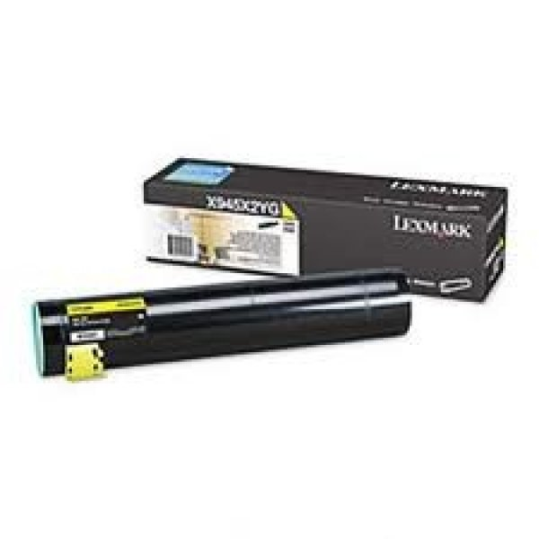 LEXMARK Yellow Toner Yield 22000 Pages For X945X2YG