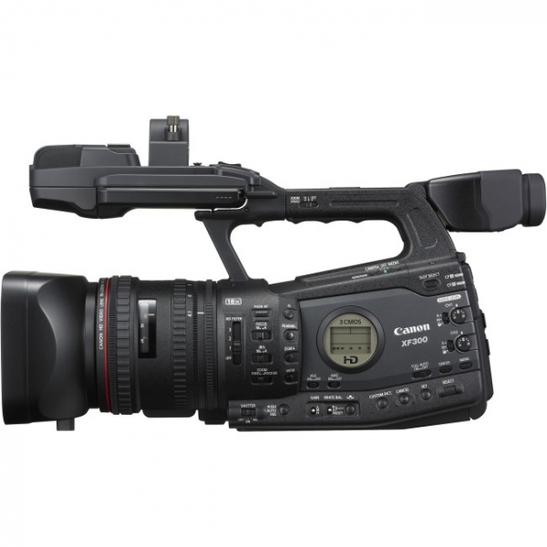 CANON Mpeg-2 Full Hd 4:2:2 50mbps Mxf Codec 18x XF300