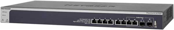 NETGEAR Xs708t 8-port 10-gigabit Ethernet Smart XS708T-100AJS