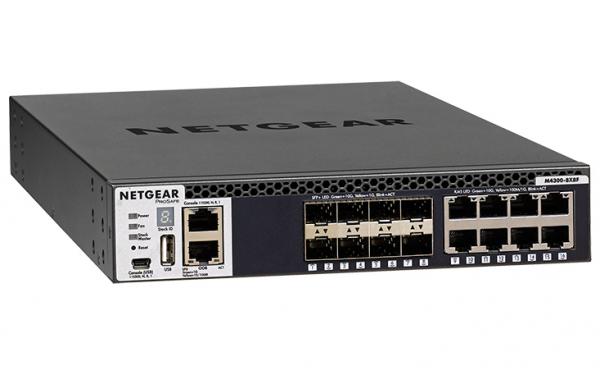NETGEAR M4300-8x8f 16-port Fully Managed XSM4316S-100AJS